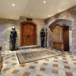 Basement Foyer To Home Theater